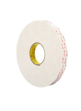 4945F DE 33MTS.X12MM BLANCO - 1,10 MM